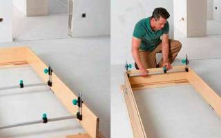 Как правильно сделать коробку для межкомнатной двери?