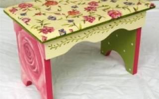 Как придать новый вид старой мебели?