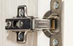 Как врезать петли в дверь шкафа?