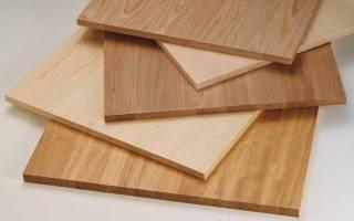 Что такое мебельный щит из дерева?