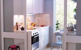 Какую выбрать мебель для маленькой кухни?
