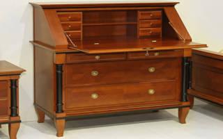 Как восстановить лакокрасочное покрытие мебели?