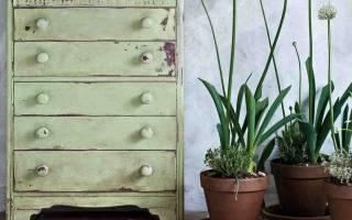 Как сделать меловую краску для мебели?