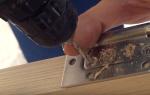 Какие петли лучше ставить на межкомнатные двери?