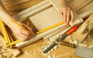 Как делается мебель из дерева?