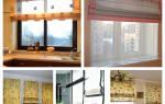 Как оформить шторы для кухни?