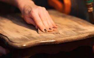 Как освежить деревянную мебель?