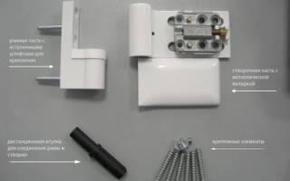 Как разобрать металлопластиковую дверь?