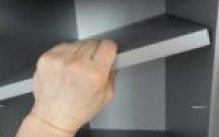 Из какого материала сделать полки в шкаф?