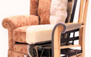 Как разобрать кресло от мягкой мебели?