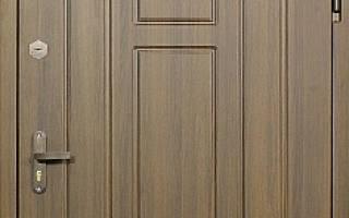 Дверь железная входная из МДФ