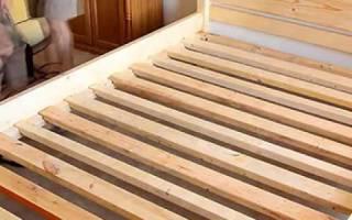 Как увеличить деревянную кровать?