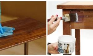 Чем покрасить столешницу из дерева?