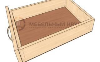 Как самому сделать ящики для шкафа?