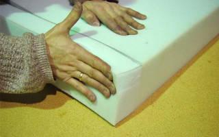 Чем склеивают поролон в мягкой мебели?