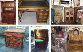 Как правильно реставрировать деревянную мебель?