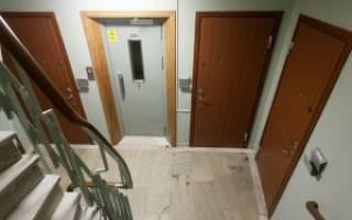 Как по технике безопасности должна открываться дверь?