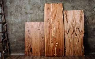 Как обрабатывать слэб из дерева?