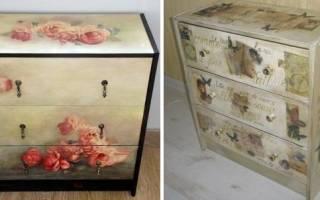 Как можно отреставрировать старую мебель?
