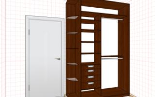 Как спроектировать встроенный шкаф купе?