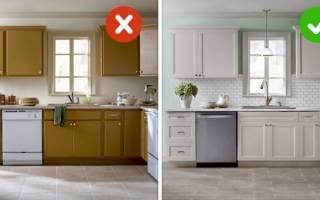Как отреставрировать кухню из МДФ?