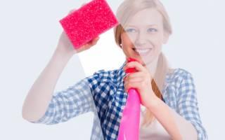 Как убрать пятна на матовом стекле двери?